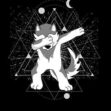 Astral Dabbing Wolf by Daniel0603