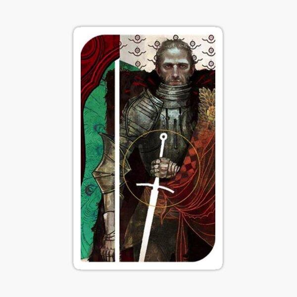 Dragon Age Inquisition Cullen Tarot card Sticker