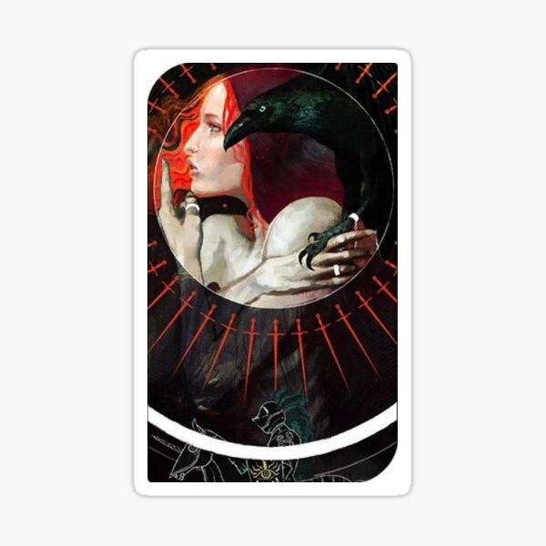Dragon Age Inquisition Leliana Tarot card Sticker