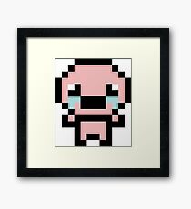 Isaac Pixelated  the Binding of isaac Framed Print