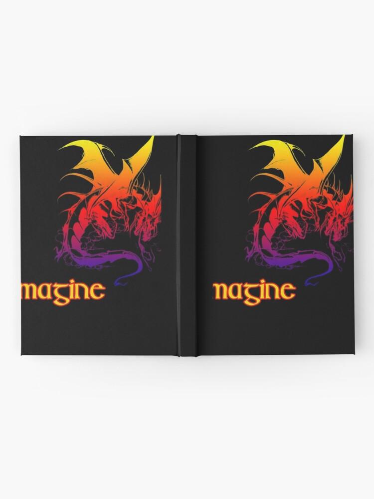 Alternate view of imagine dragons Hardcover Journal
