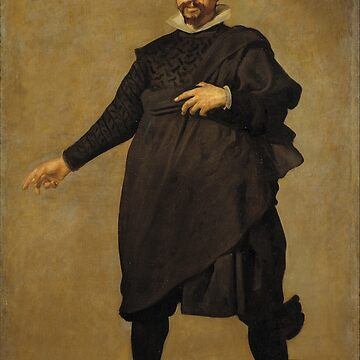 Velázquez - Pablo de Valladolid (Museo del Prado, 1636-37) by Geekimpact