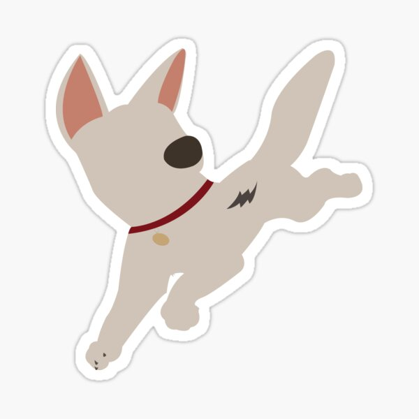 Bolt the super dog Sticker