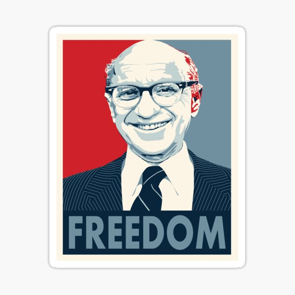 Milton Friedman Sticker