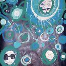 Blue Dizzies by Lacey  Eidem