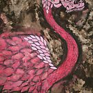 Skullamingo by Lacey  Eidem