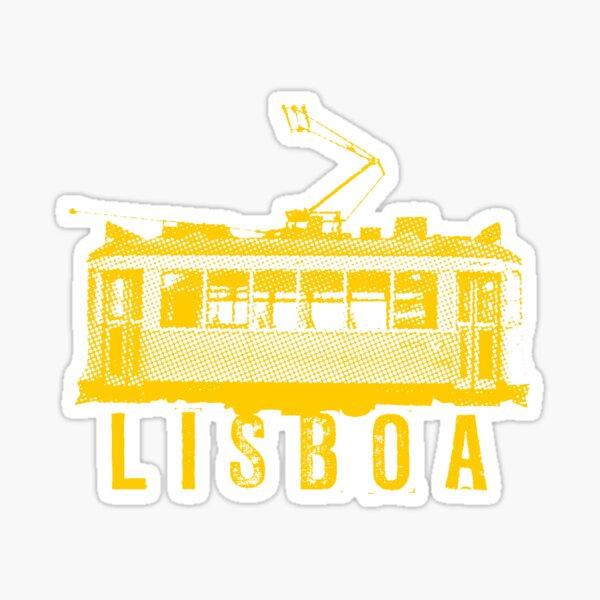 Lisboa yellow Sticker