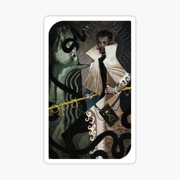 Dragon Age Inquisition Dorian Tarot card 2 Sticker