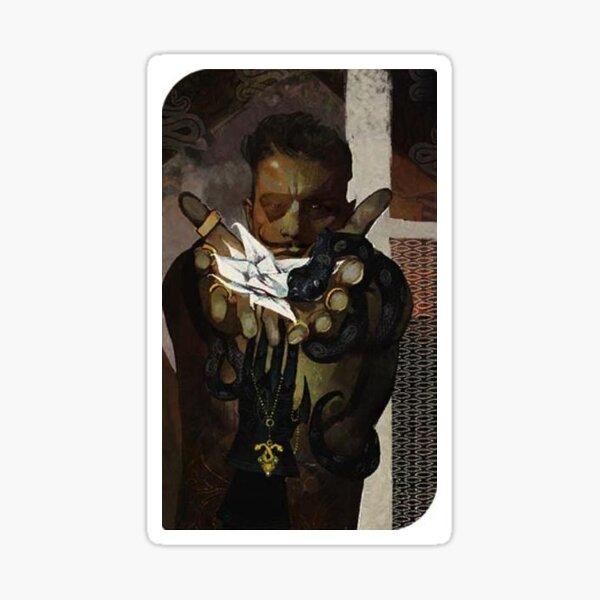Dragon Age Inquisition Dorian Tarot card 3 Sticker