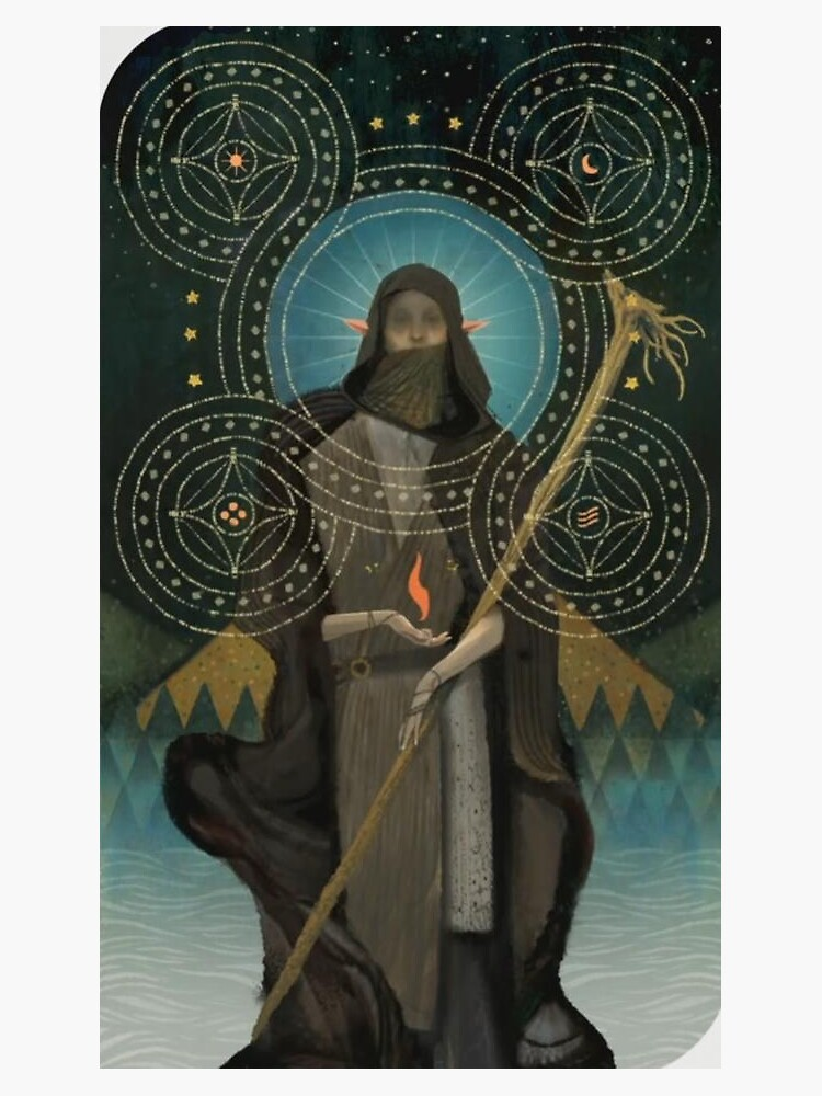 Dragon Age Inquisition Solas Tarot card by Windmach