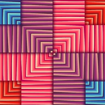Seamless tiles in different colors by TOMSREDBUBBLE