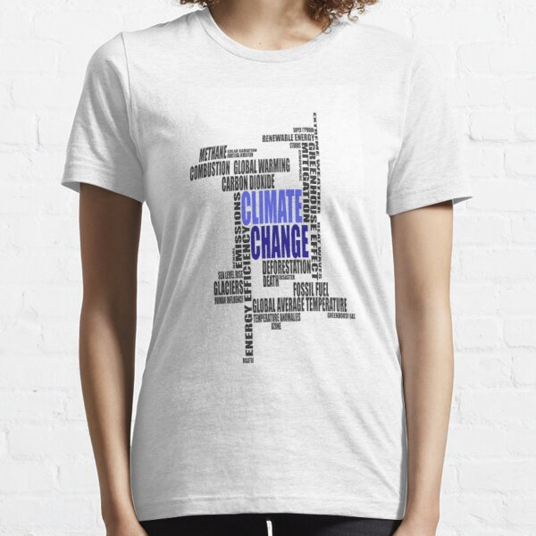 Climate Change Essential T-Shirt