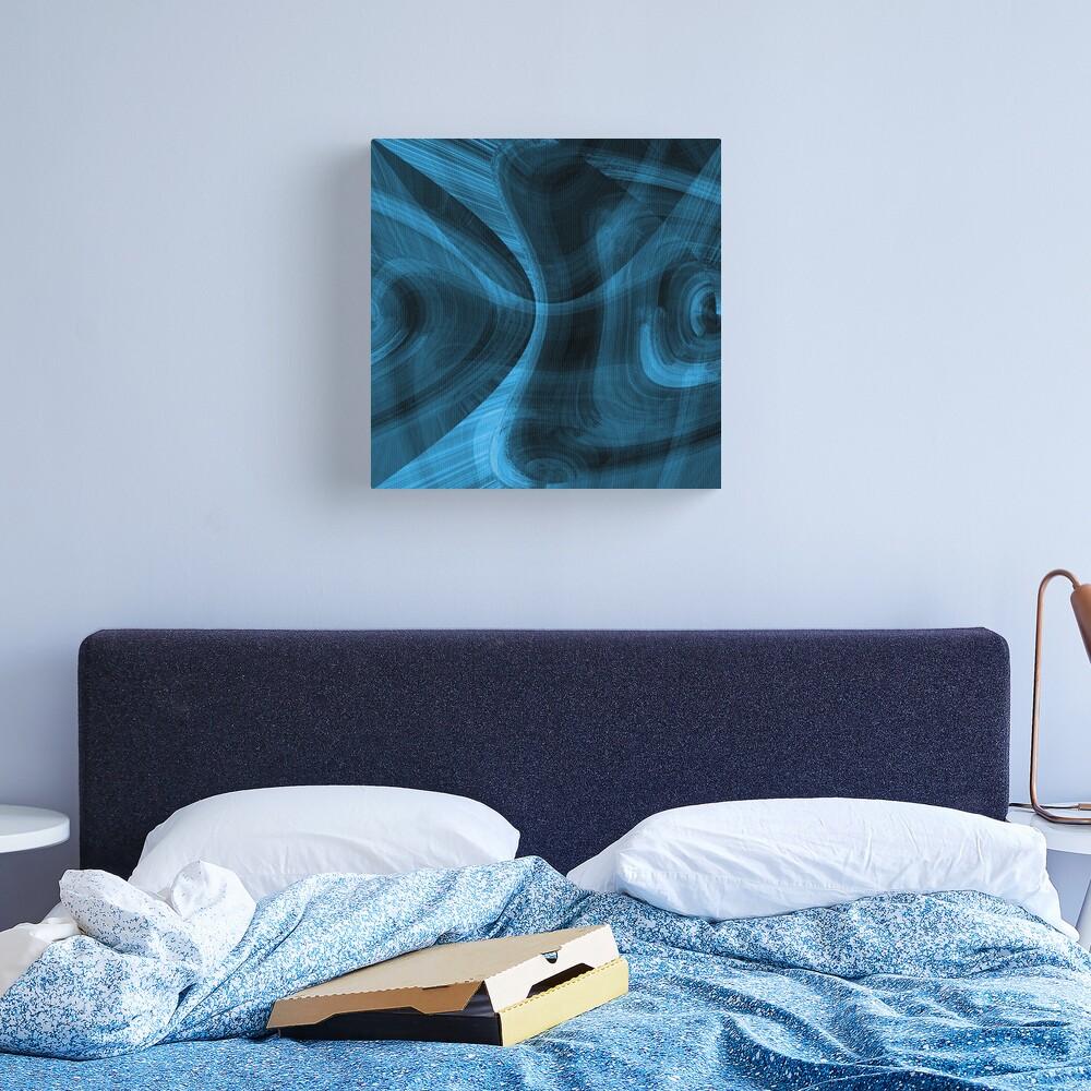 Bluish Black Hole Canvas Print
