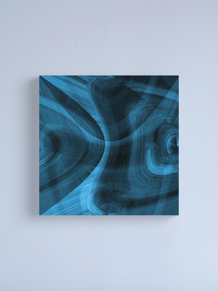 Alternate view of Bluish Black Hole Canvas Print
