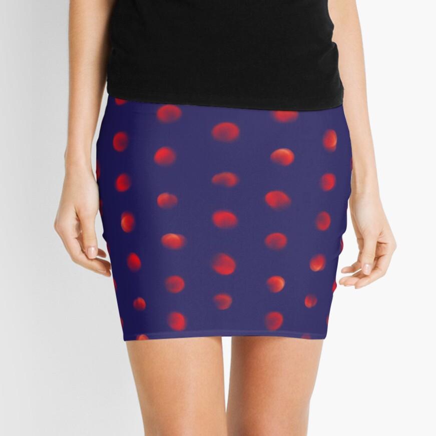 Total eclipse of the polka dot Mini Skirt