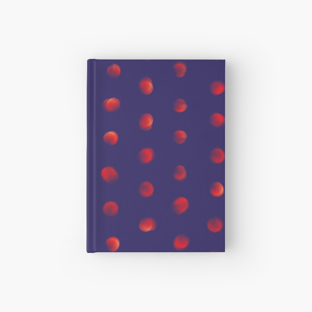Total eclipse of the polka dot Hardcover Journal
