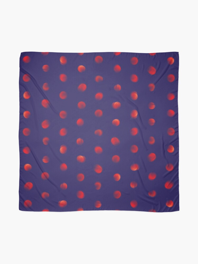 Alternate view of Total eclipse of the polka dot Scarf
