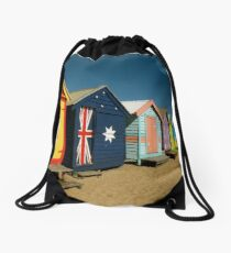 bathing boxes Drawstring Bag