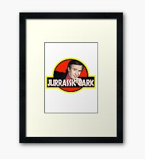 "Alan Partridge ""JURASSIC PARK"" Framed Print"