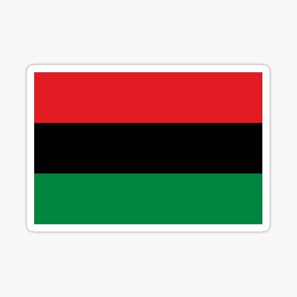 Pan-African Flag  Sticker