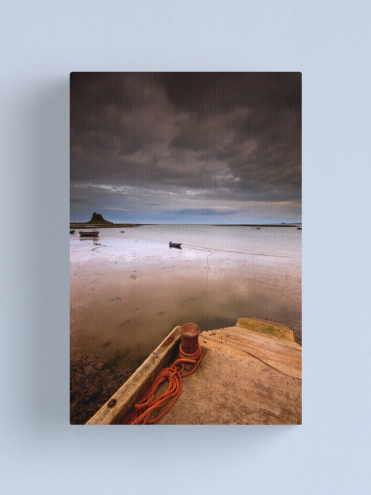 Alternate view of Gloomy Lindisfarne Canvas Print
