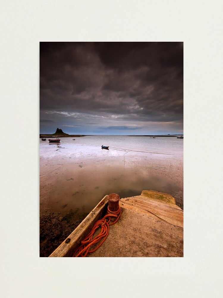 Alternate view of Gloomy Lindisfarne Photographic Print
