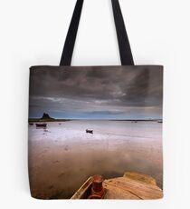 Gloomy Lindisfarne Tote Bag