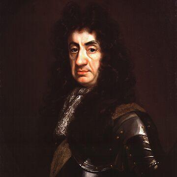 John Riley -  Portrait of King James II by Geekimpact