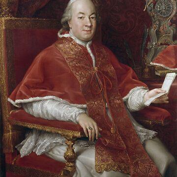 Pompeo Batoni - Ritratto di Papa Pio VI  by Geekimpact