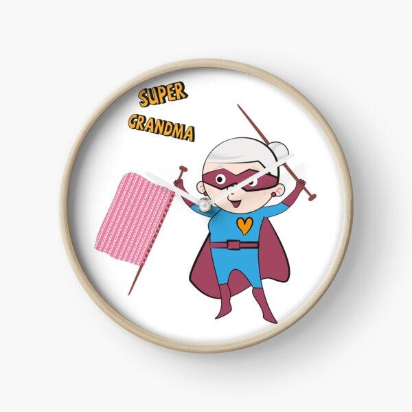 Super Grandma 3 Clock