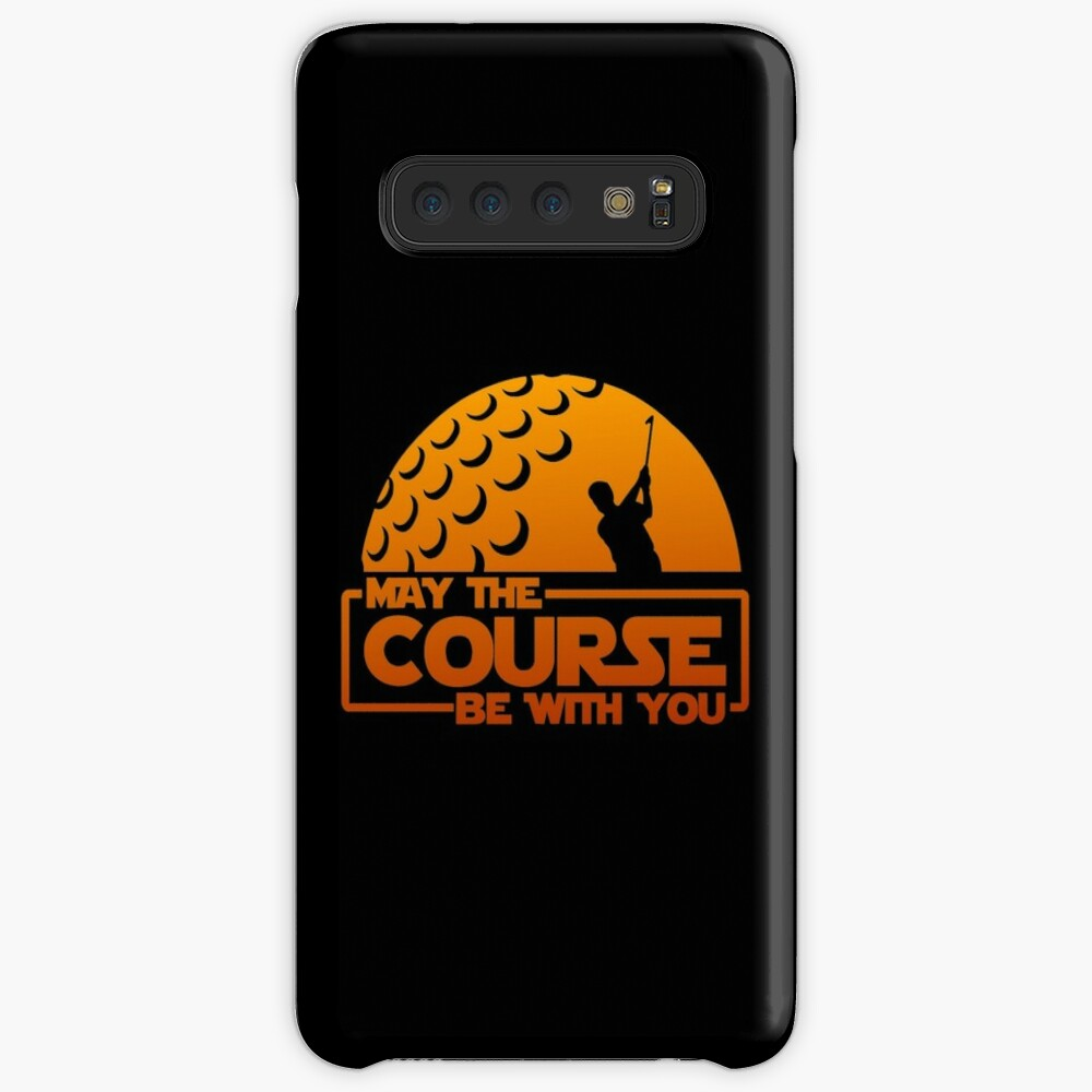 Golf - May the Course Be With You! | Case & Skin for Samsung Galaxy