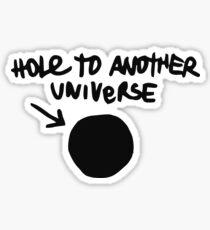 Pegatina Calcomanía de Chloe - Agujero a otro universo