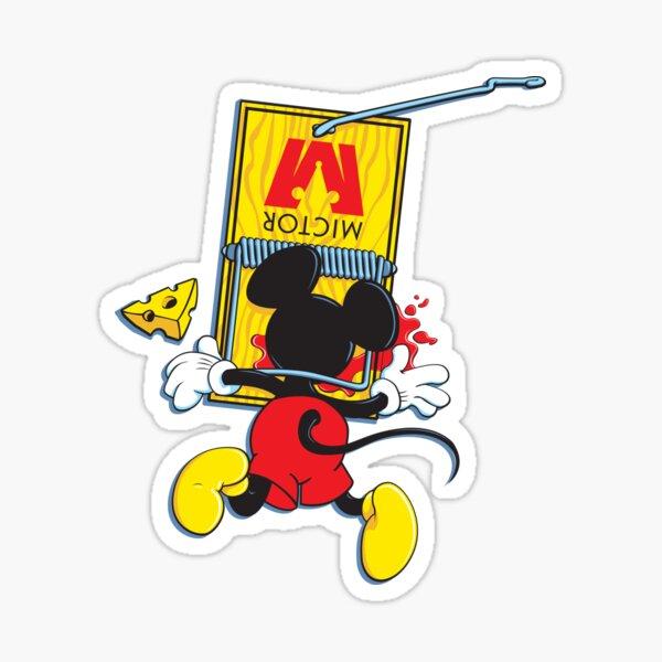 Mousetrap Sticker