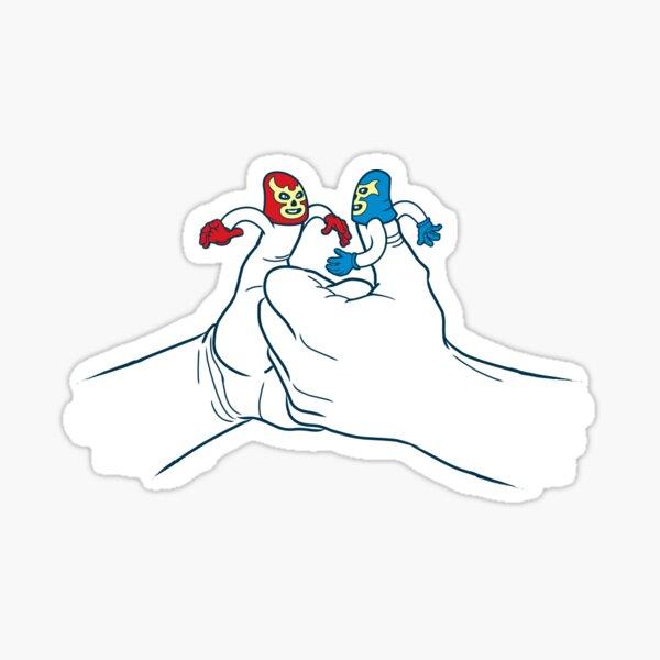 Thumb Wrestlers Sticker