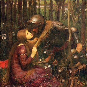 John William Waterhouse - La Belle Dame sans Merci (1893) by Geekimpact