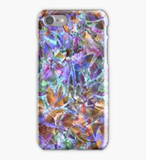 Floral Abstract Stained Glass G268 iPhone Case/Skin