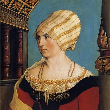 Dorothea Meyer, by Hans Holbein the Younger by Geekimpact