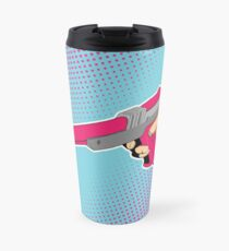 NES Laser Gun Nintendo Light Blaster Illustration Zapper Video Game Lazer Travel Mug