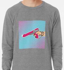 NES Laser Gun Nintendo Light Blaster Illustration Zapper Video Game Lazer Lightweight Sweatshirt