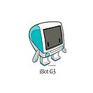"""""""iBot G3 Bondi Blue"""" cute robot  by Classicbot by Classicbot"""