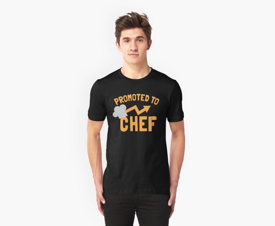 PROMOTED to CHEF with chef's hat  by jazzydevil