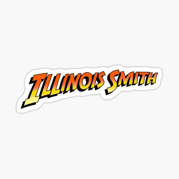 Illinois Smith Sticker