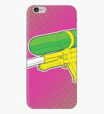 Super Soaker Water Gun 90s 80s Toy Squirt Pistol Drawing iPhone Case