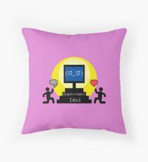 Algorithmic idol Floor Pillow