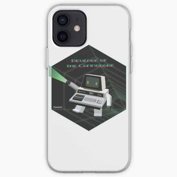 Commodore PET 2001 the Evil Robot by Classicbot iPhone Soft Case