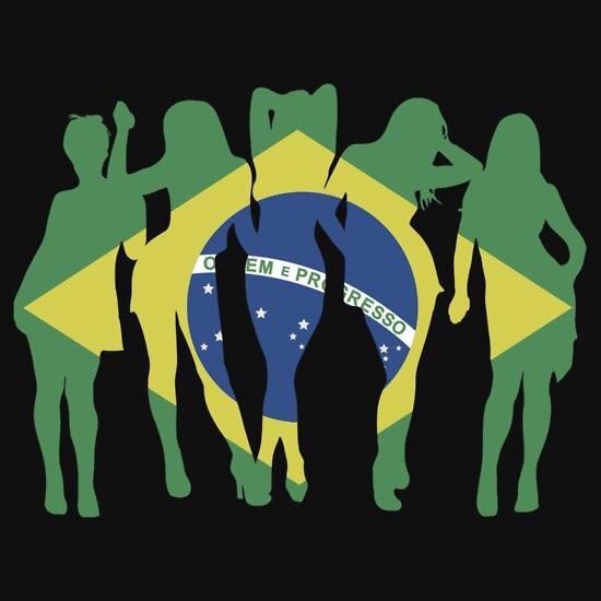 TShirtGifter presents: Brasileiras