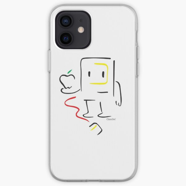 Picasso Classicbot Cute Robot drawing iPhone Soft Case