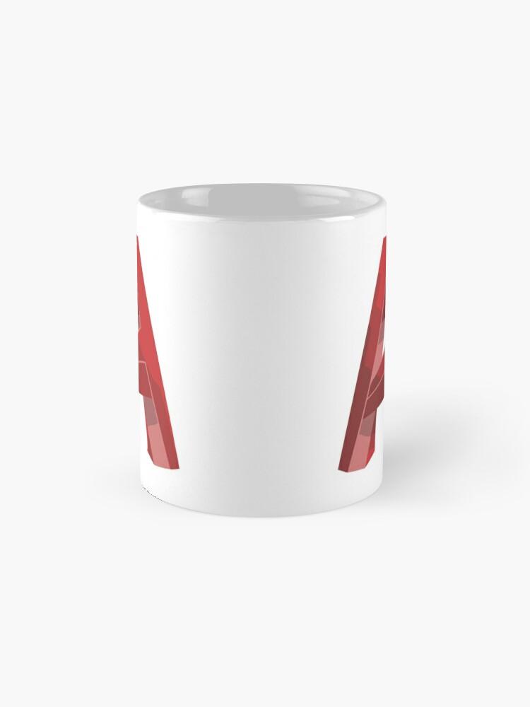 Alternate view of 3D Cad/Cam/Cae Auto Cad Designer Mug