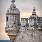 Belém Tower Turret by Viv Thompson