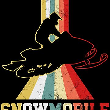 Snowmobile Shirt by 4tomic